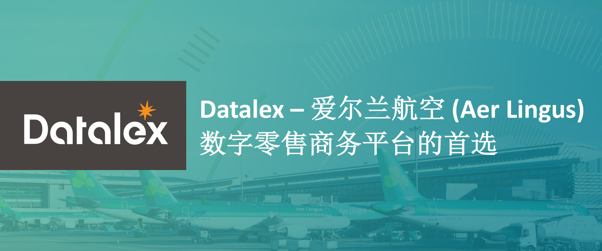 Datalex – 爱尔兰航空 (Aer Lingus) 数字零售商务平台的首选